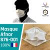 Masque tissu coronavirus AFNOR