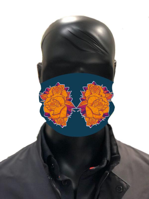 Simu Masque reutilisable coronavirus Pandorart AFNOR azote