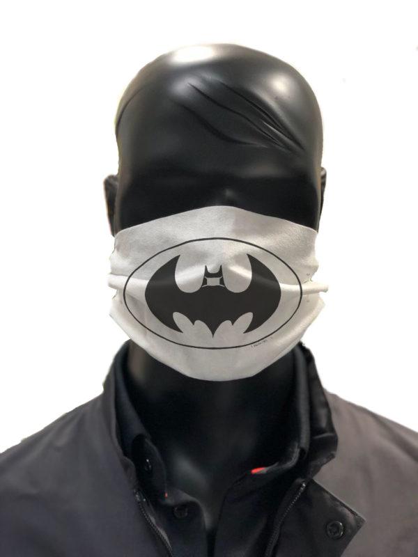 Simu Romain BATMAN Masque reutilisable coronavirus Pandorart AFNOR