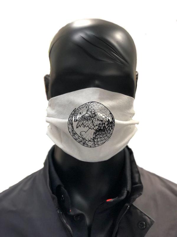 Simu Romain Pangolin Masque reutilisable coronavirus Pandorart AFNOR