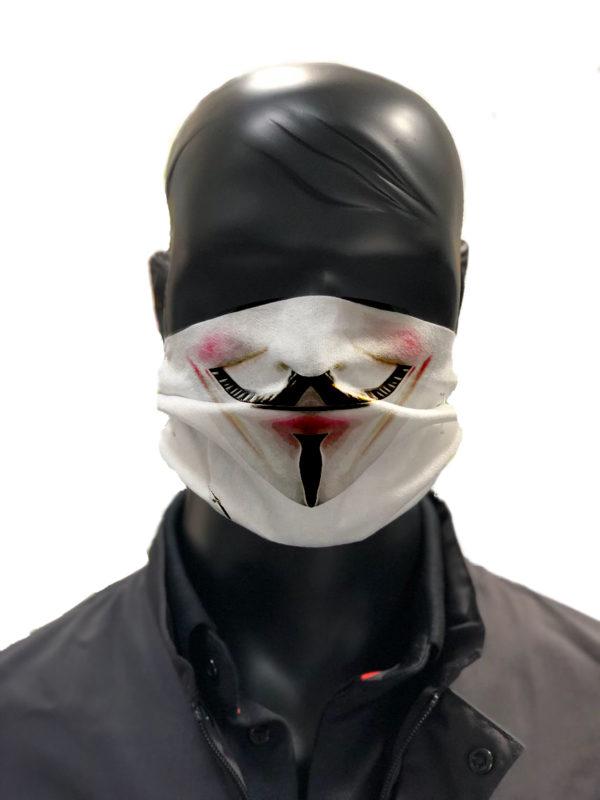 simu Masque reutilisable coronavirus Pandorart AFNOR anonymous