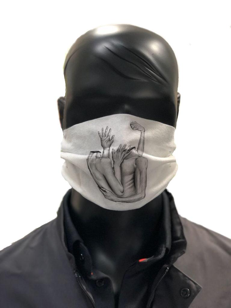Masque tissu coronavirus AFNOR ARMION 2