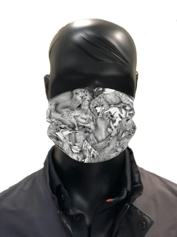 Masque tissu coronavirus AFNOR ARMION 2-