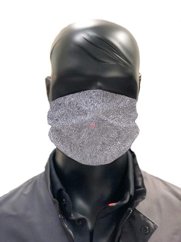 Masque protection lavable Bobb simu MASQUE 3