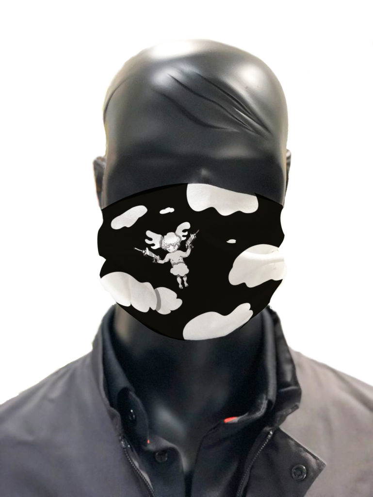 Masque protection simu lavable Gilles Tassan masque 1