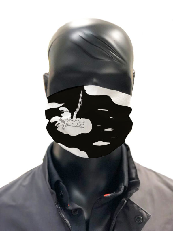 Masque protection simu lavable Gilles Tassan masque 3