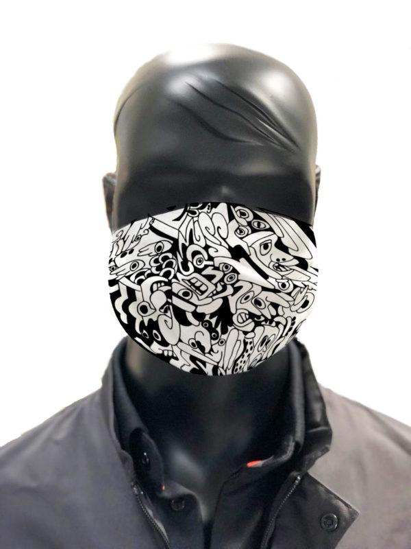 masque afnor covid protection lavable simulation Den A