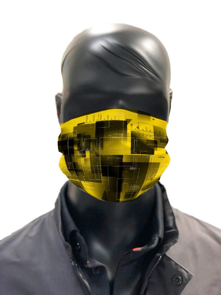 masque afnor covid protection lavable simulation Harald Abstrakt