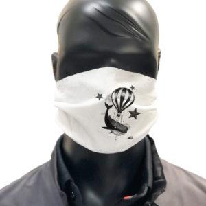 masque afnor covid protection lavable simulation Zoltan Baleine