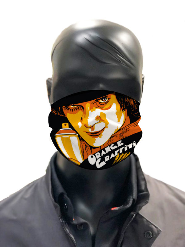 masque afnor covid protection lavable simulation orange Zoltan